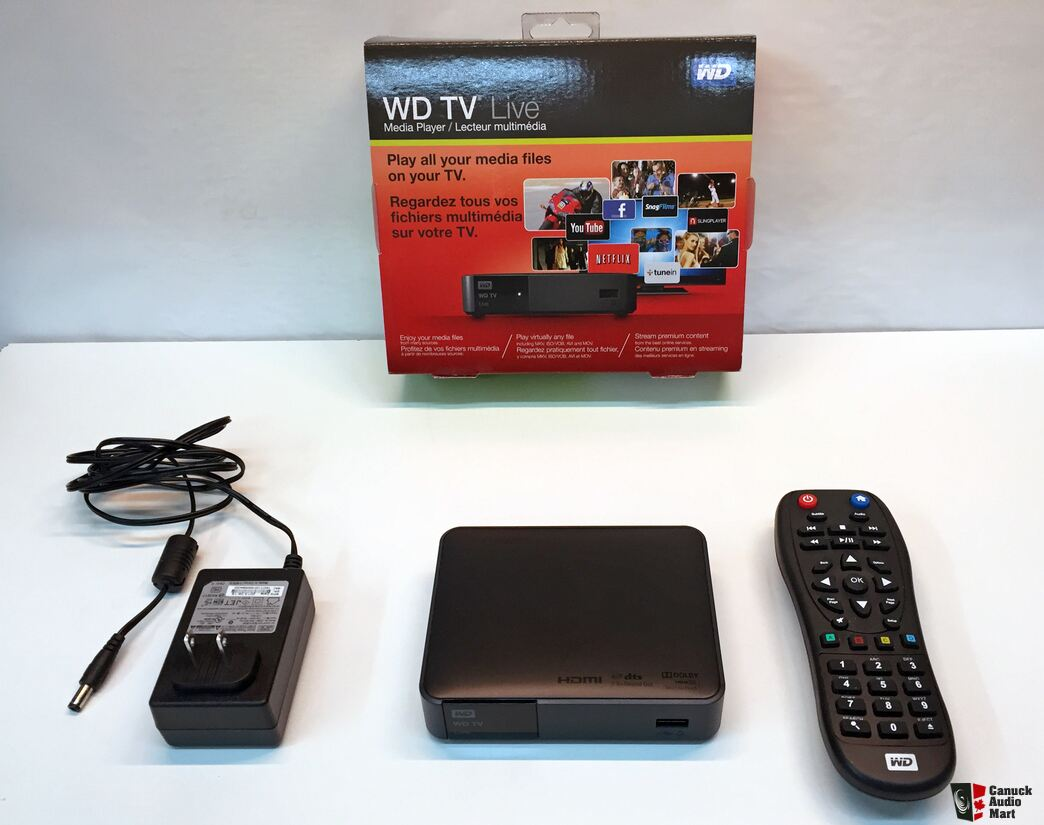 Western Digital Live Tv Streaming Media Player Photo