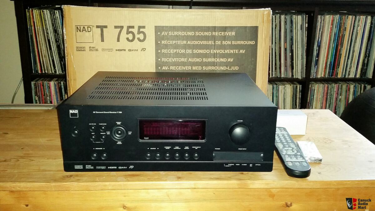 NAD T755 Home Theatre Receiver