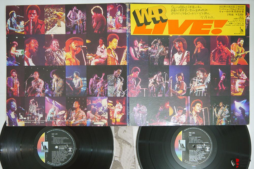 Japanese Vintage Vinyl -Allman Bros - The Band -Hendrix