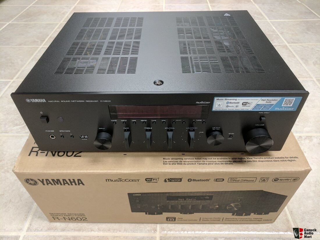 Yamaha R-N602 Network Stereo Receiver w/ Spotify Connect and