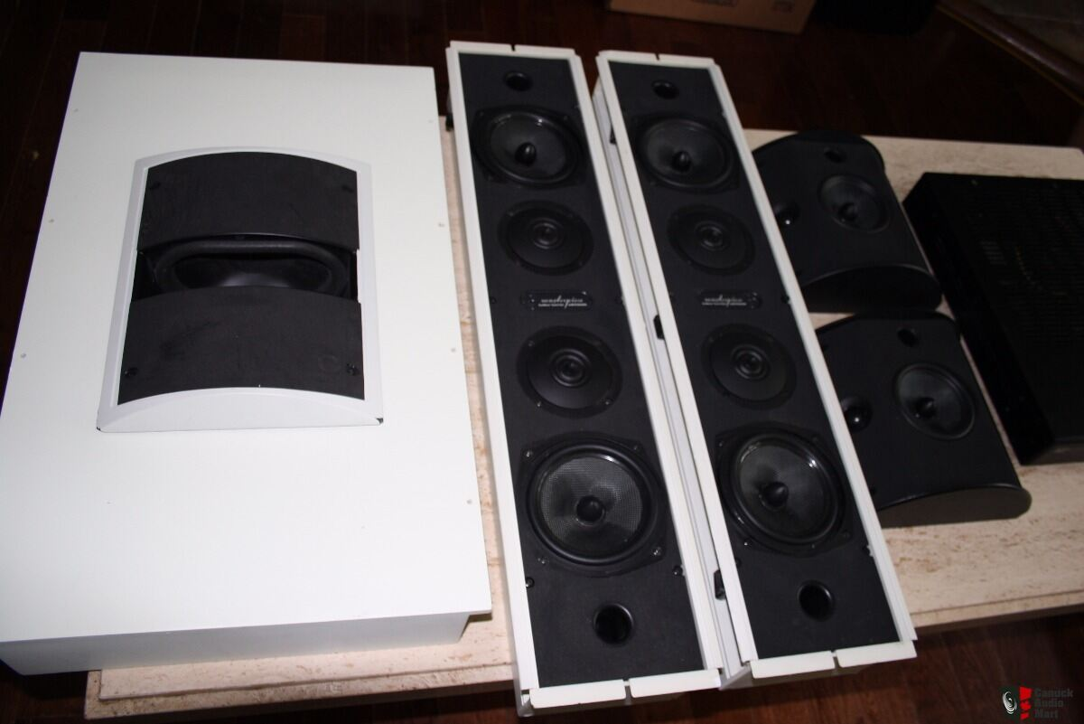 artison master piece home theater speaker system photo 1570428 canuck audio mart. Black Bedroom Furniture Sets. Home Design Ideas