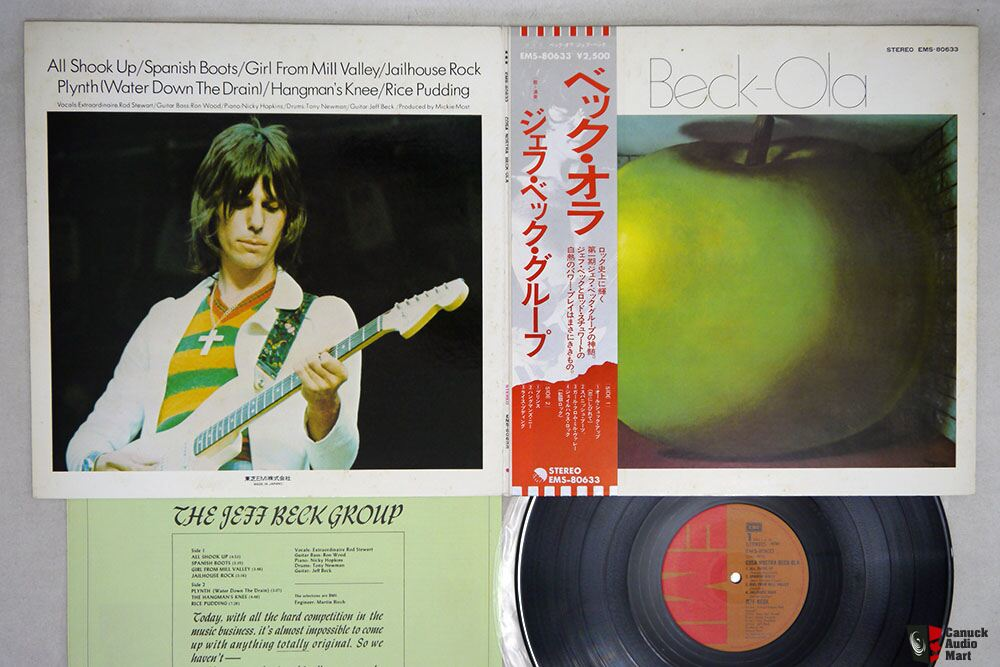 Japanese Vintage Vinyl P30-Jeff Beck-Santana-Heart-HOLLIES-Smokey Robinson