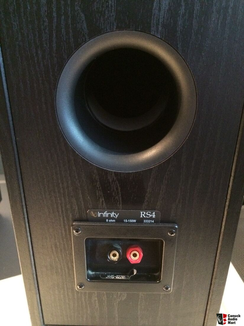 Infinity Rs4 Speakers Sound Amazing Mint Condition Have The Rs5