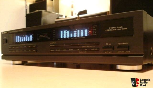 Technics Sh Ge70 Eq Stereo Graphic Equalizer Spectrum