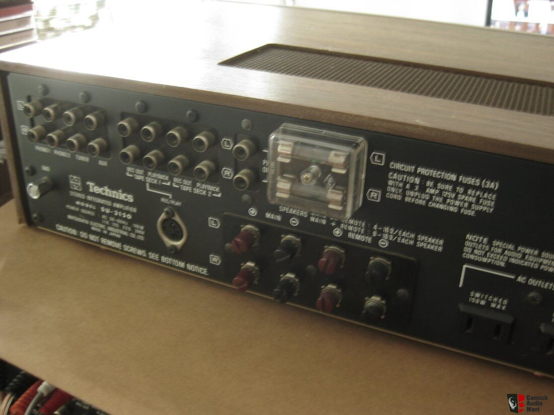 Vintage Technics SU-3150 Integrated Amp