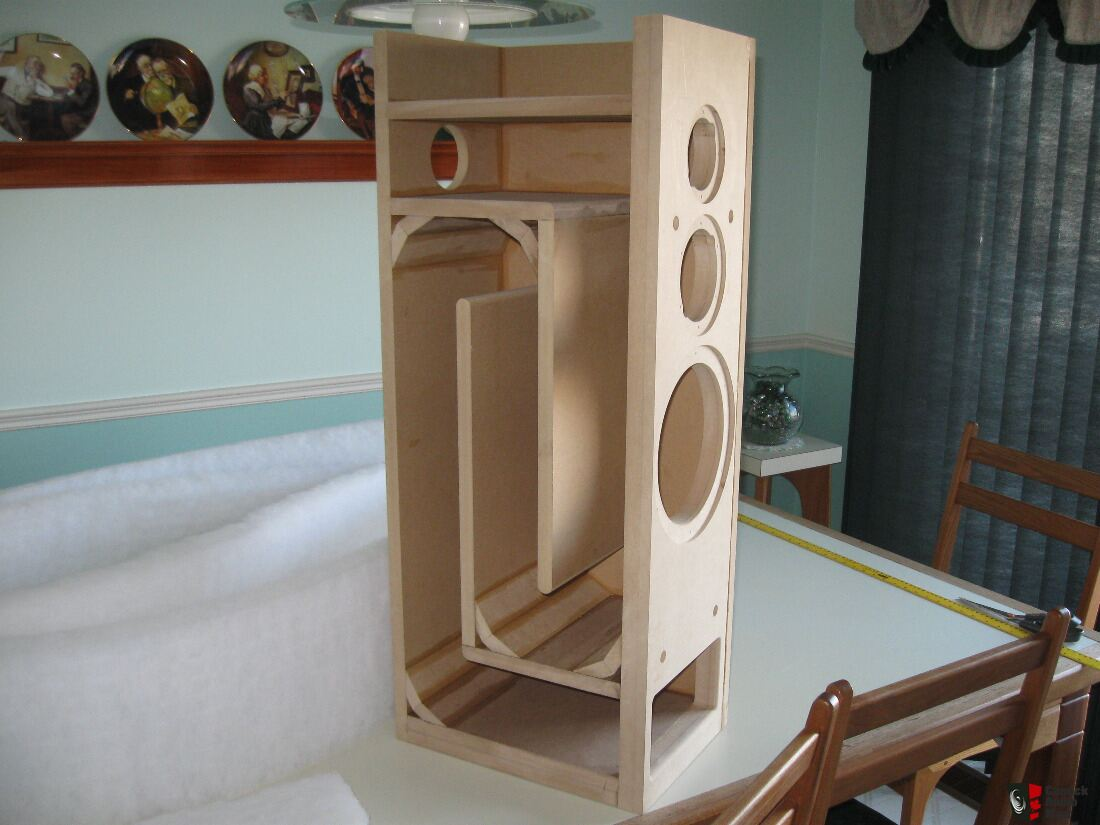 Transmission Line Speakers Subwoofer And Bookshelf Or Rear Speakers For Sale Canuck Audio Mart