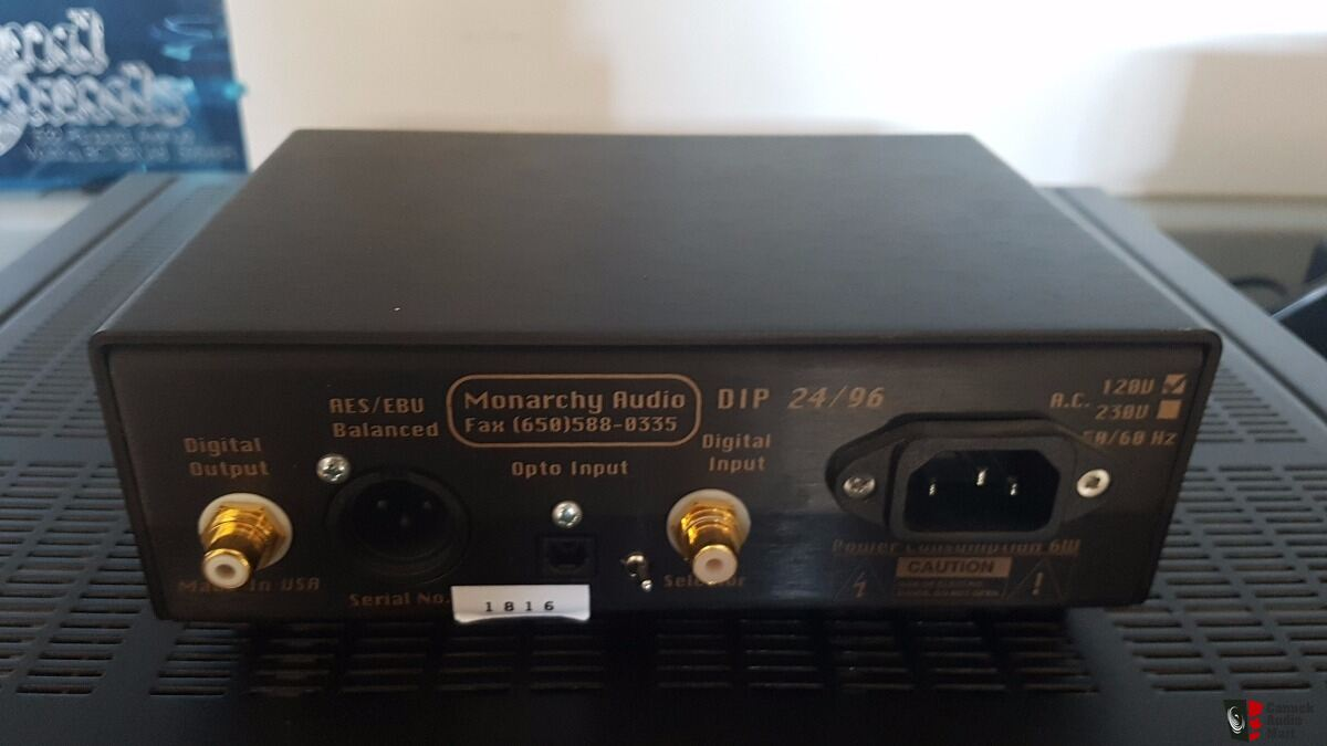 Monarchy Audio Dip Digital Interface Processor