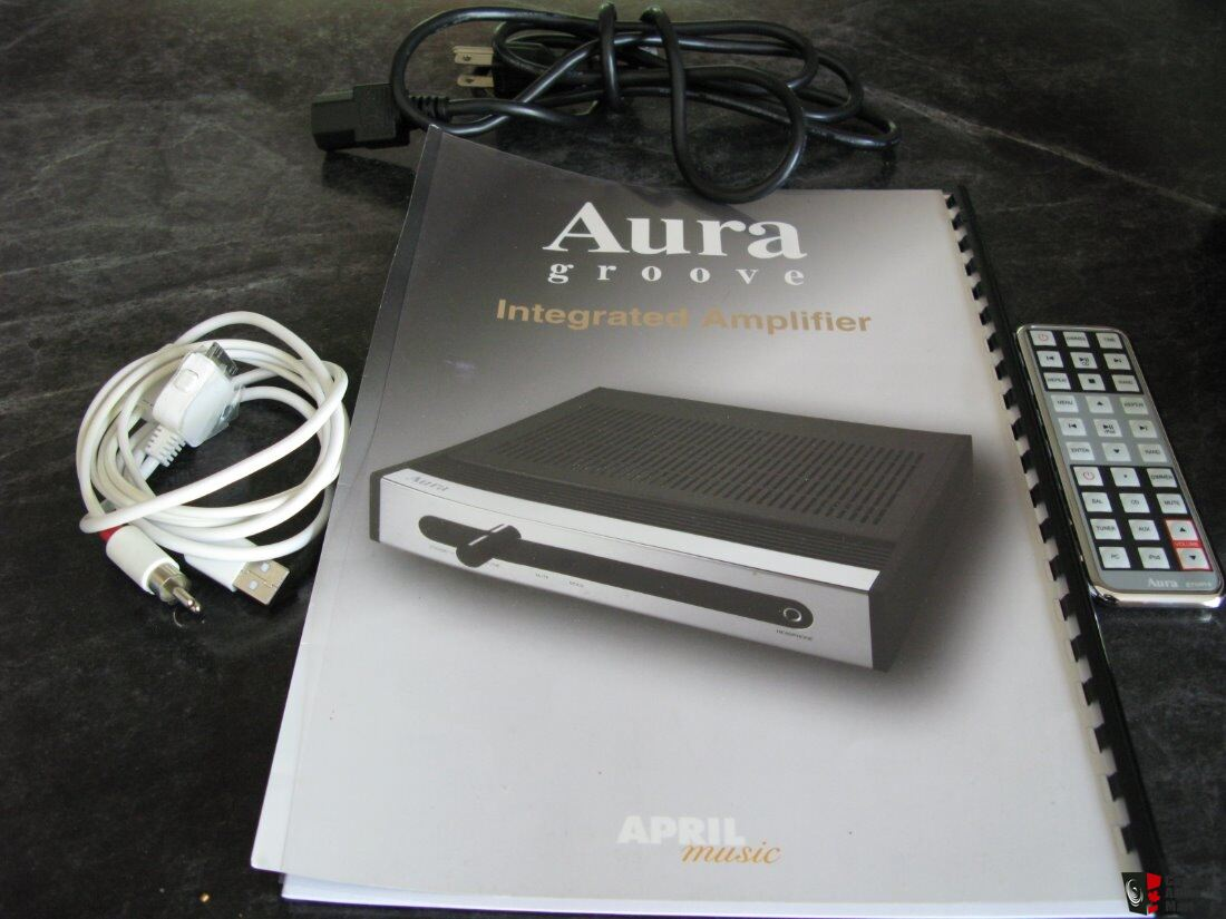 April Music Aura Groove Integrated Amplifier