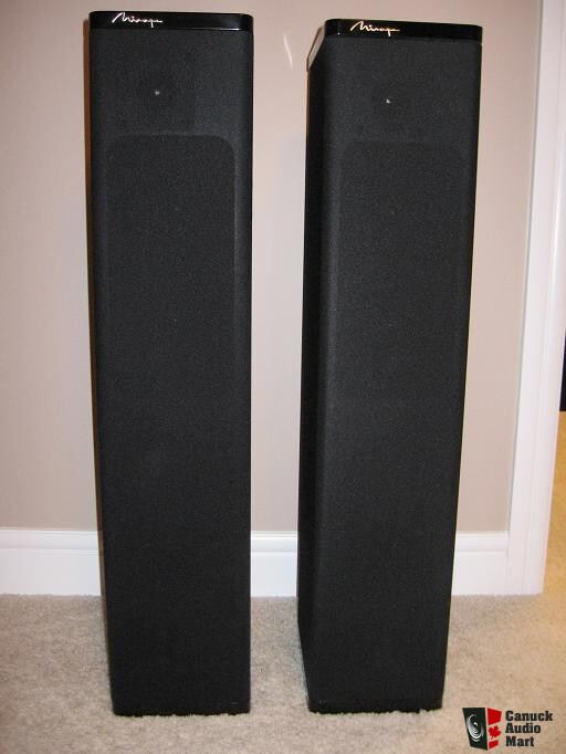 Mirage M 490is Floor Standing Speakers Photo 161185