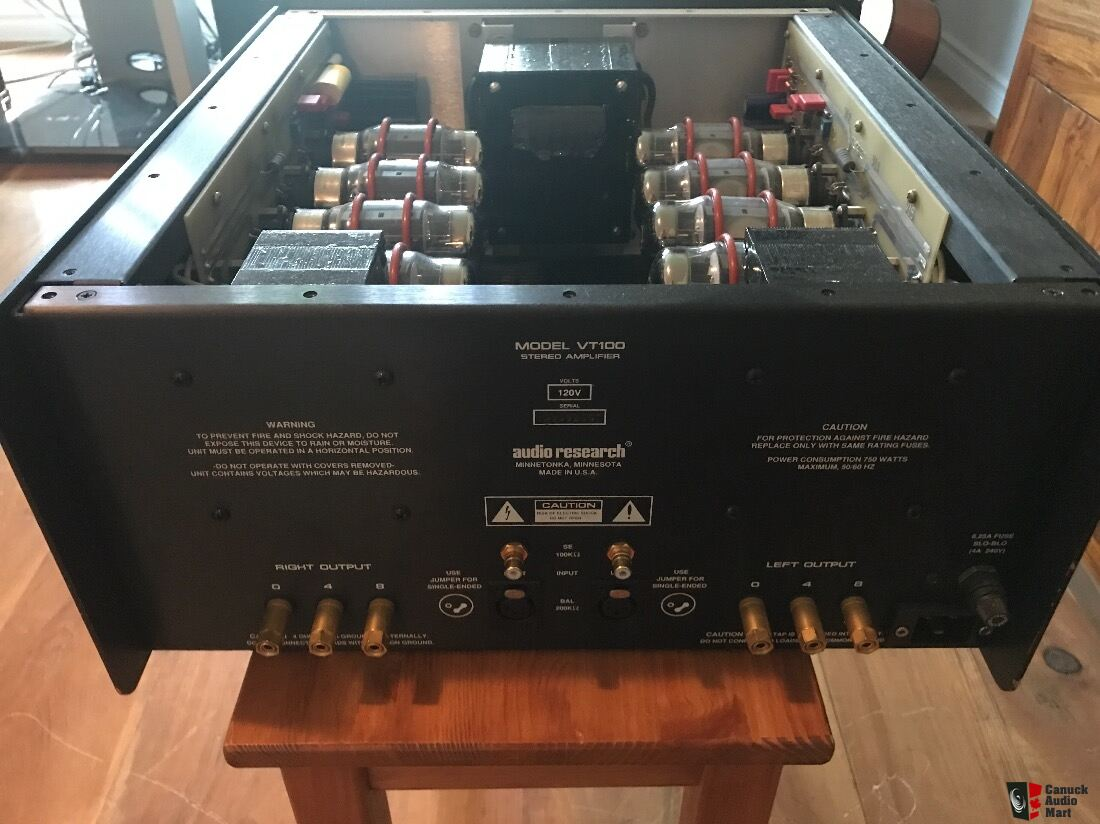AUDIO RESEARCH VT100 MKI Vacuum Tube Power Amplifier