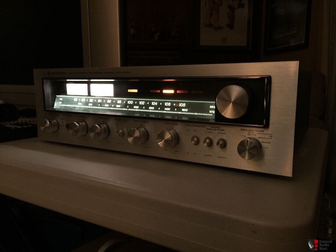 Kenwood KR-5030 Stereo Receiver - Very Good Condition!!