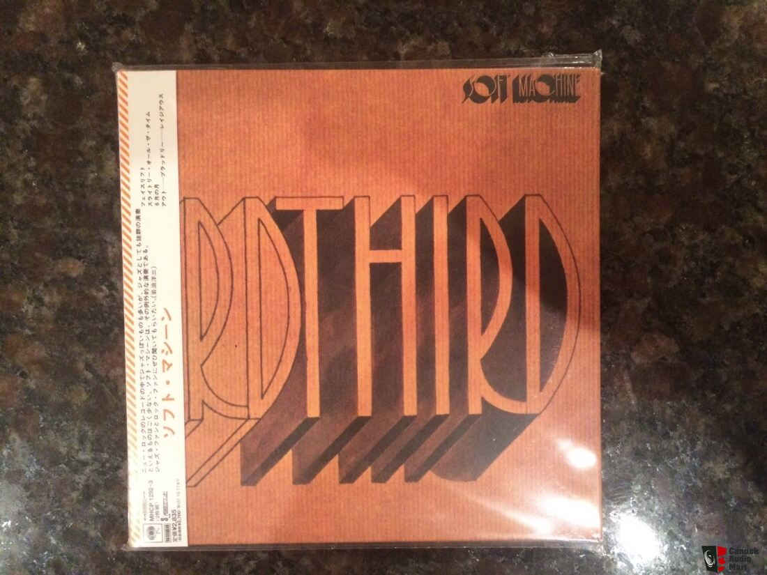 Soft Machine First genuine Japan mini lp