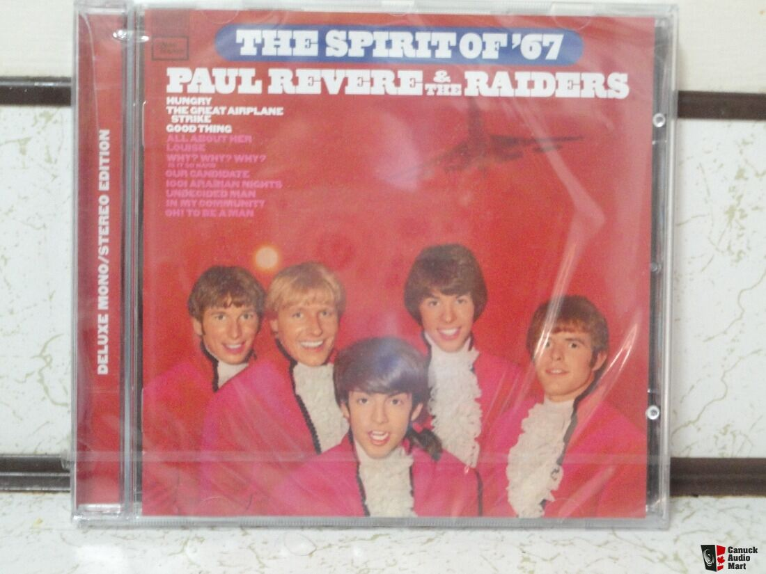 Paul Revere and The Raiders-The Spirit of '67 Deluxe Mono/Stereo Edition CD