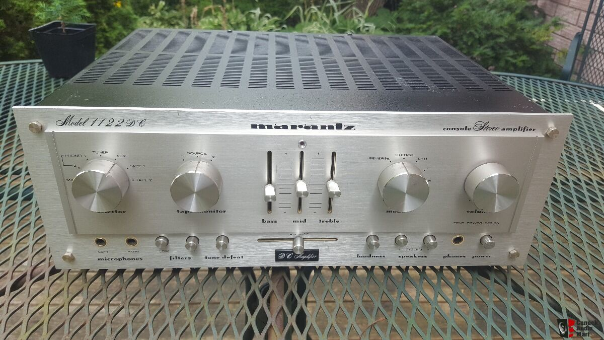 Marantz 1122 DC Integrated Amplifier & Marantz 2020 Tuner Made in Japan Classic Vintage Audio