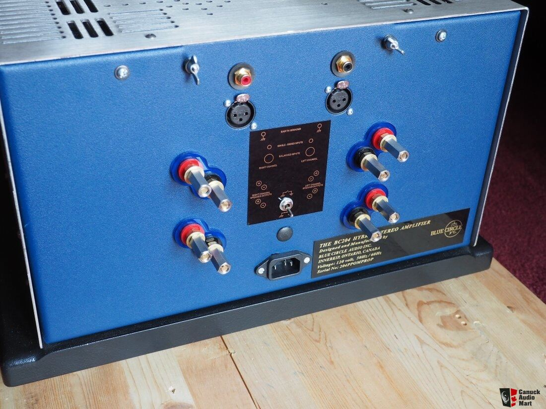 Blue Circle BC204 NST amplifier - New Lower Price