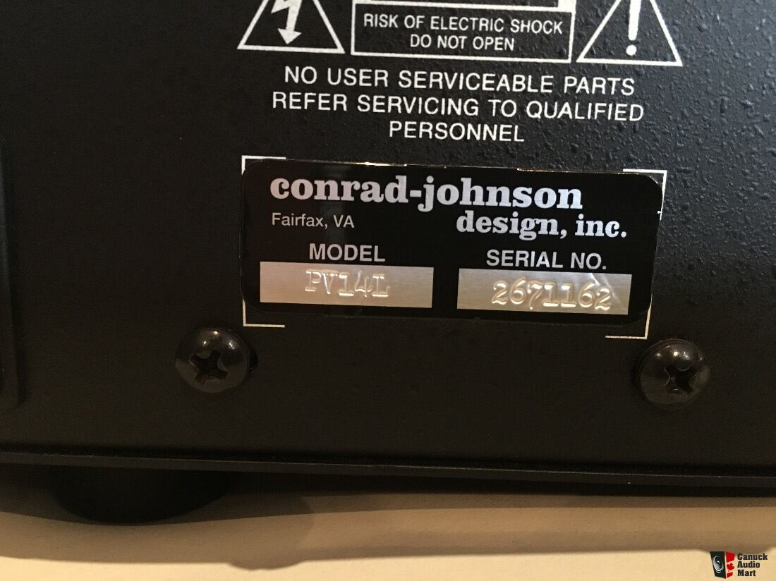Conrad Johnson PV-14L preamp