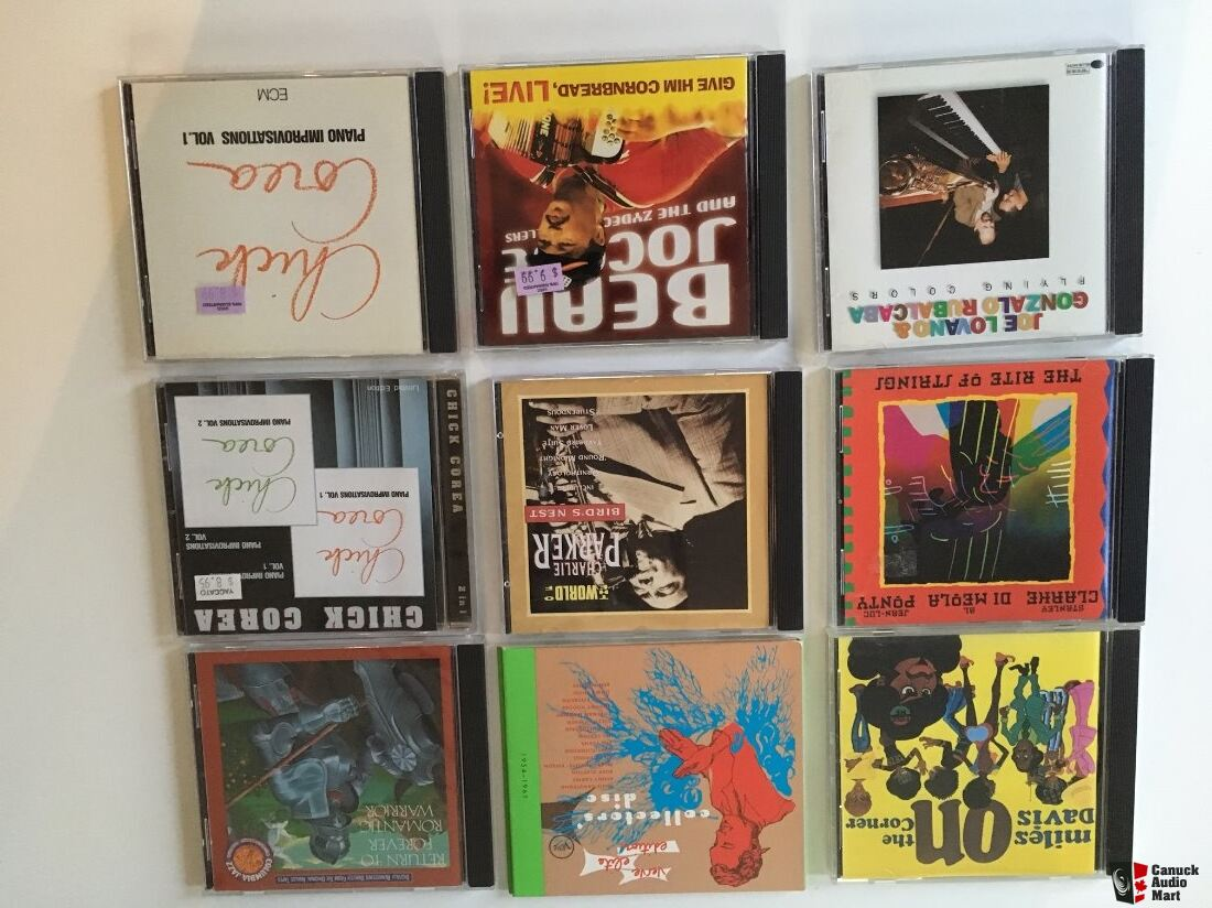 various Jazz CDs - Reduced