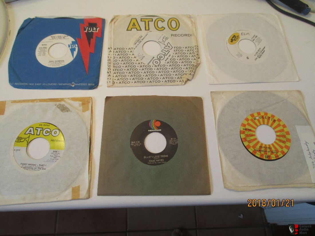 Collection of 400 Northern Soul 45 's - Nash Taylor Kelly Wright La Flavour Banton Chandler Mimms