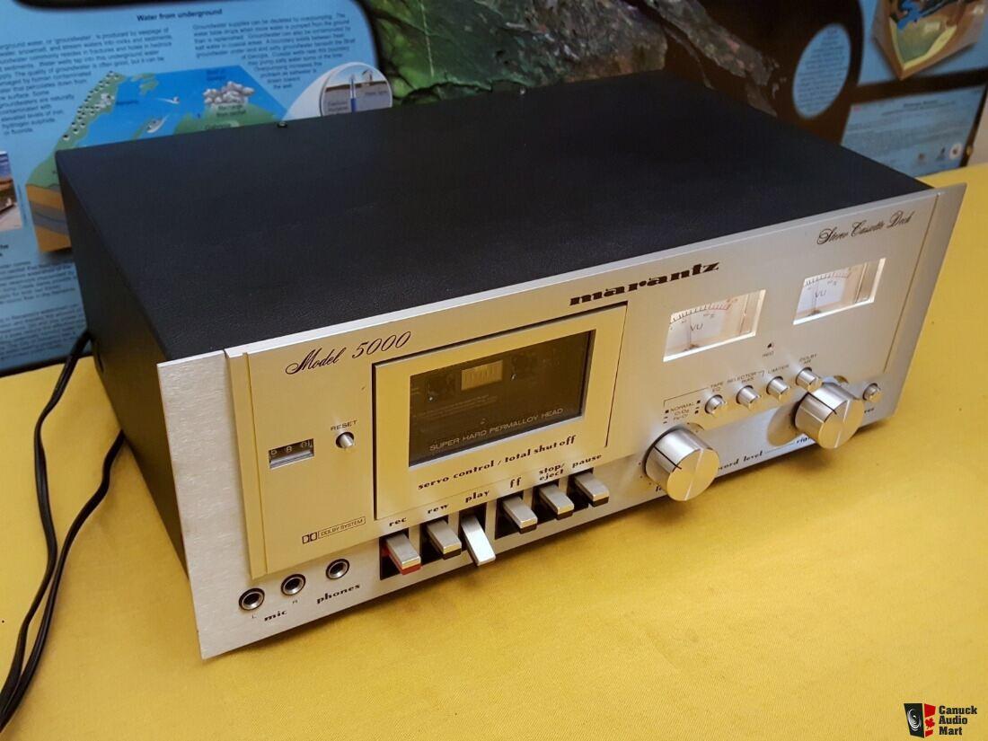NEAR MINT Condition - Vintage Marantz 5000 Stereo Cassette Deck