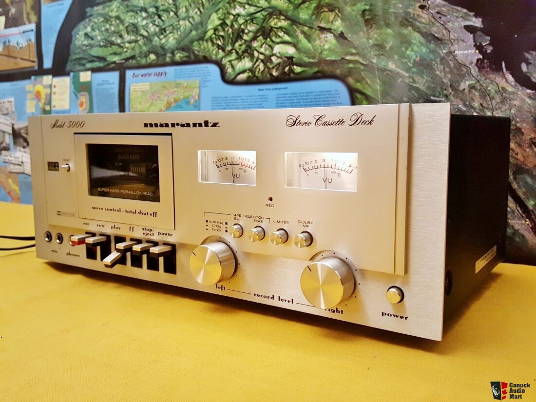 NEAR MINT Condition - Vintage Marantz 5000 Stereo Cassette