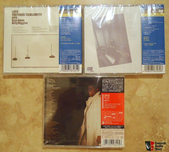 Trio & Stanley Turrentine Audiophile CDS I !