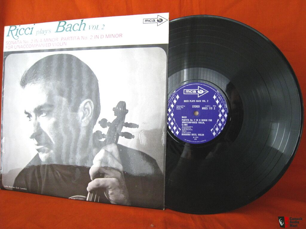 MCA MUCS 119  Ricci plays Bach Vol. 2