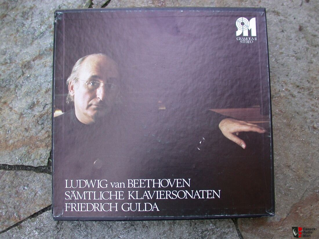 Friedrich Gulda Beethoven box set