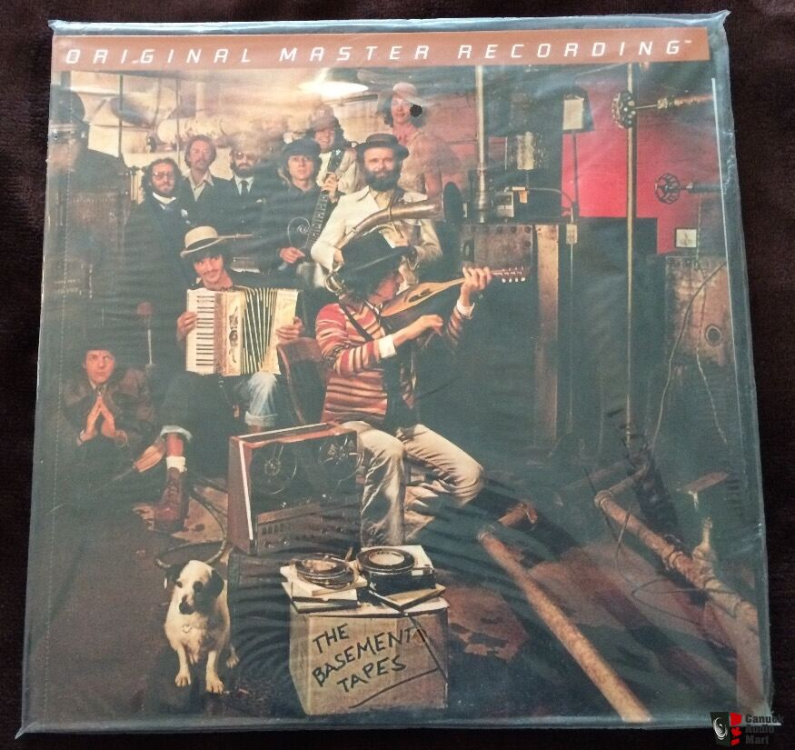 Bob Dylan and The Band - The Basement Tapes MFSL Vinyl (sealed) - Sale Pending