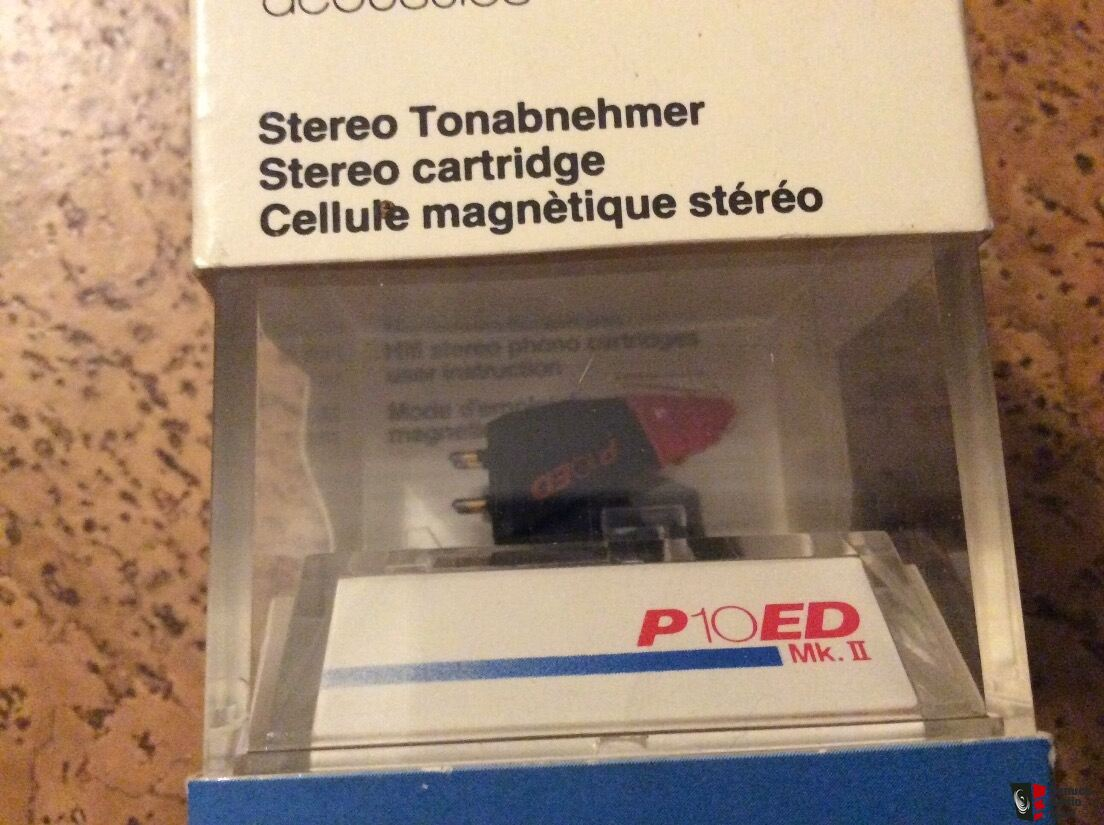 New Old Stock (NOS) AKG P10ED Mkii Cartridge/stylus Combo