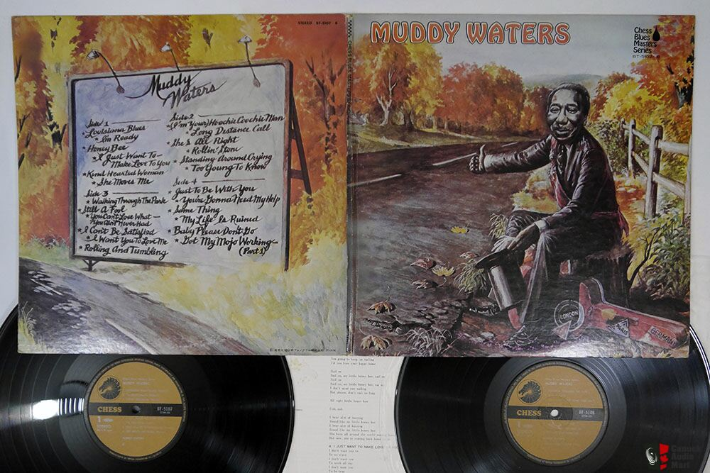 Japanese Vintage Vinyl -Muddy Waters-Duane Allman-Peter Gabriel- Nick Lowe- The Band