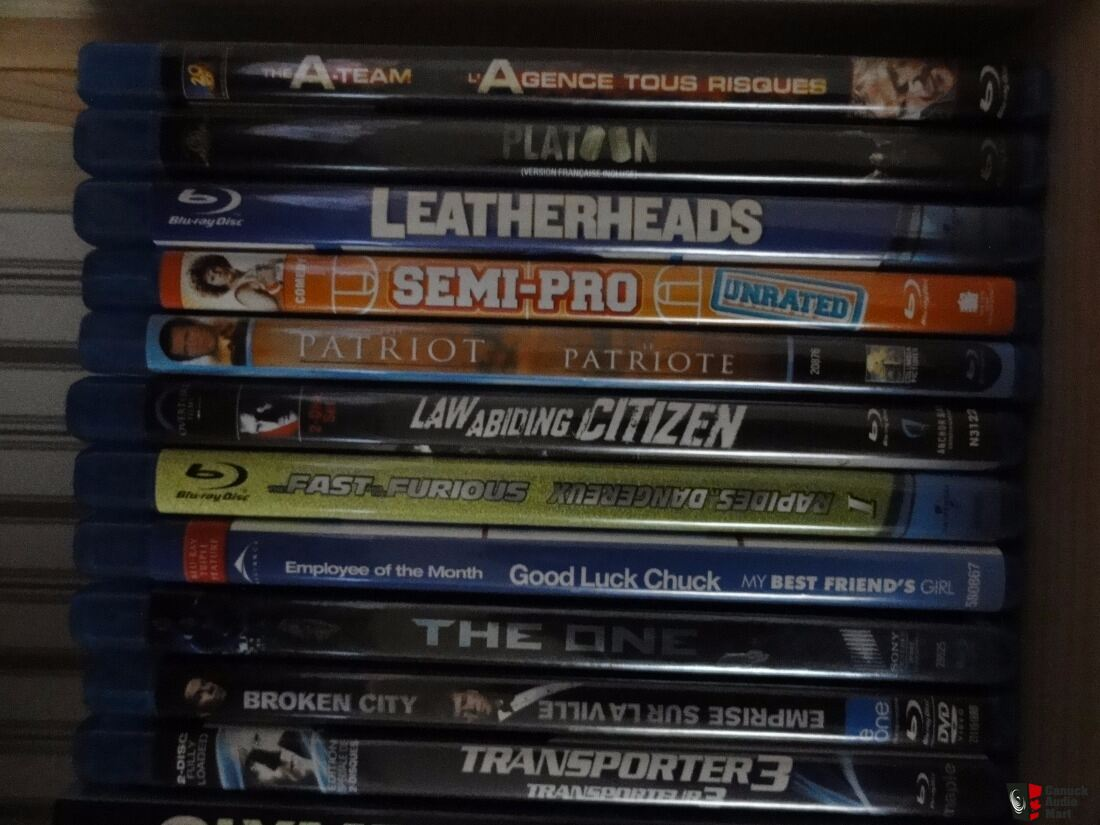 Lot Of 25 Blu-Ray Movies - Great Titles, Like New, And Cheap!!!