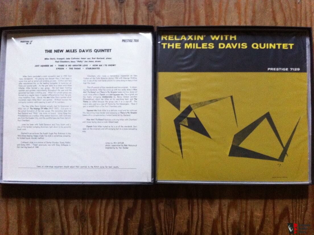 The Great Prestige Recordings Limited Edition Analogue Productions APJ035 #611 of 2500 - Miles Davis