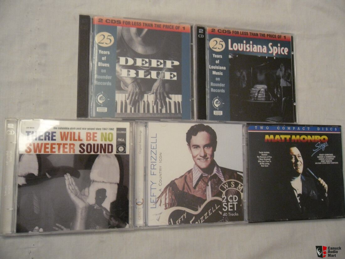 36 CDs for sale - jazz, blues, rock, and more