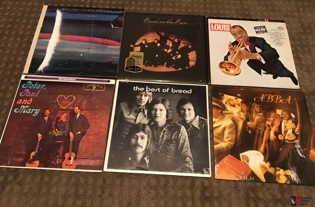 6 LPs - Free Shipping