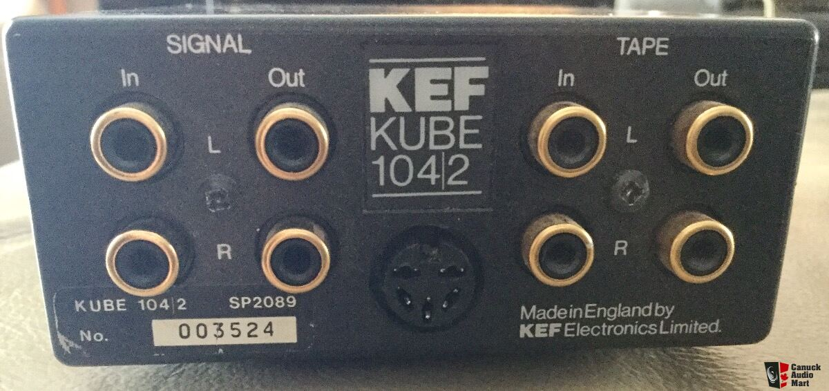Kef Kube Amp Power Supply For 104 2 Speakers Photo 1673622