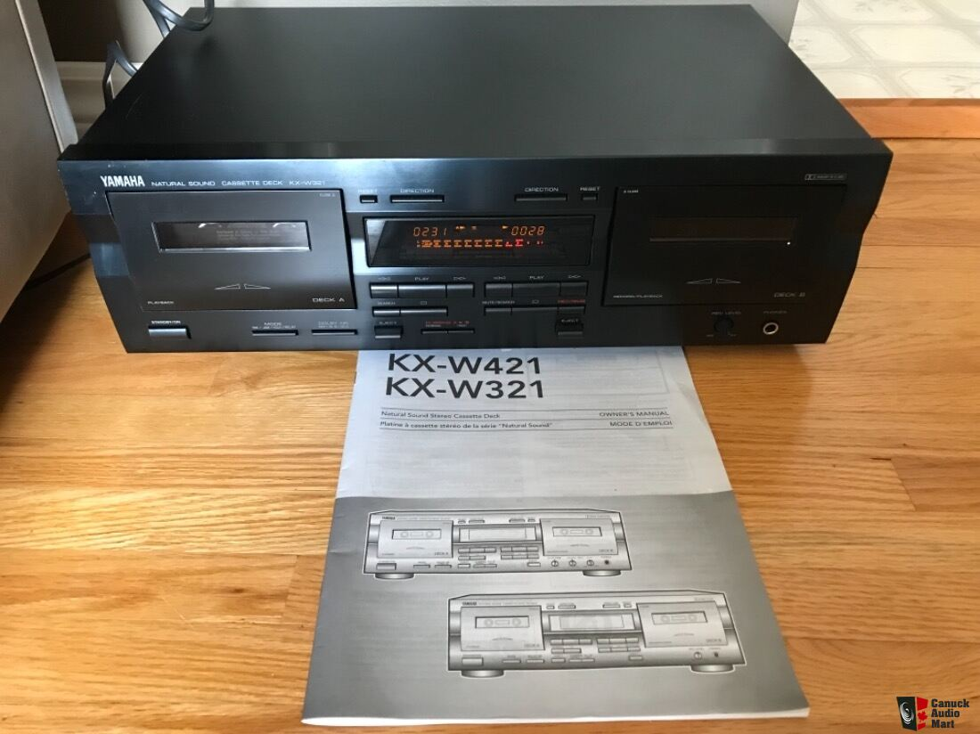 Yamaha Natural Sound Cassette Deck KX-W321