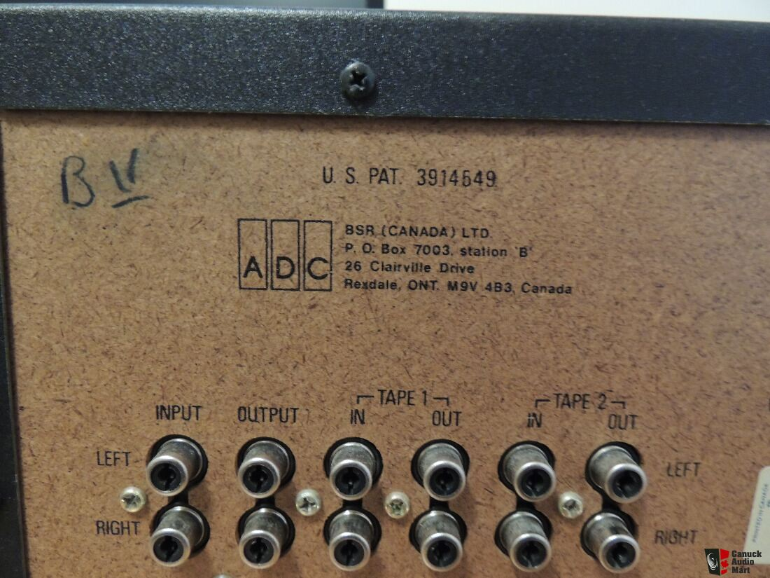 Vintage ADC Sound Shaper SS110 IC One Ten IC - RARE SILVER CHROME FACE Version