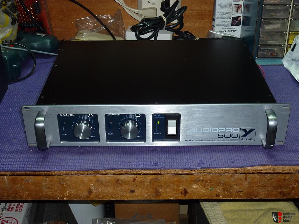 Yorkville 500 Watt Stereo Power Amplifier Photo 168889