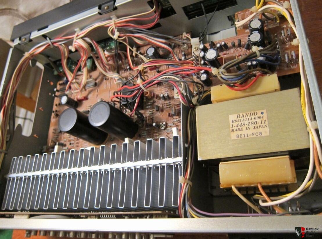 sony ta-ax520 stereo av integrated amplifier amp *** japan photo