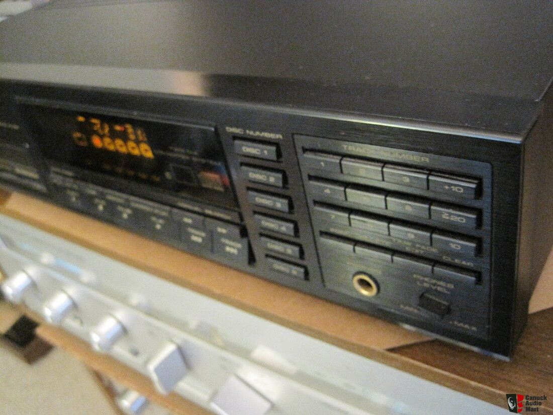 Pioneer PD-M610 Multi-Play 6-Disc CD Player Photo #1705469