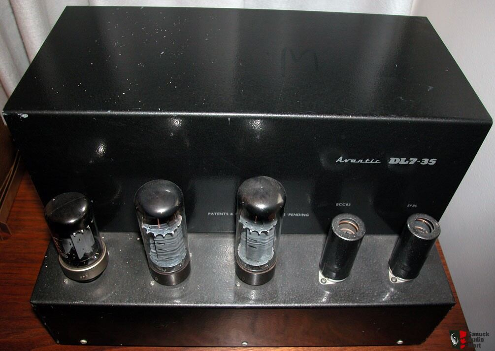Beam Echo 'Avantic' DL7-35 Mono Tube Power Amp & Matching Preamp