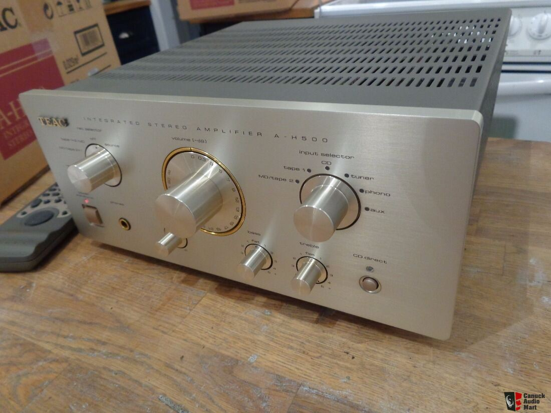 MINT TEAC A-H500 Amplifier with original box ,owner manual