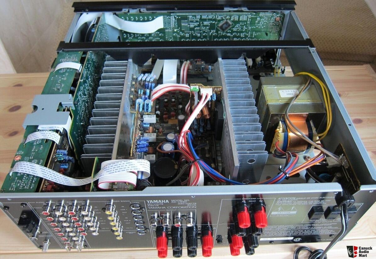 yamaha rx-v890 stereo av 5.1 big surround receiver 15 kg * japan