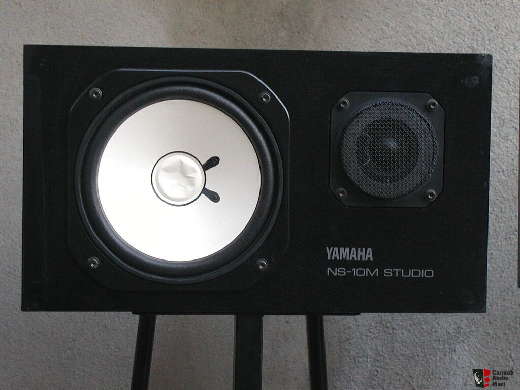 reduced yamaha ns 10m studio monitors photo 174391. Black Bedroom Furniture Sets. Home Design Ideas