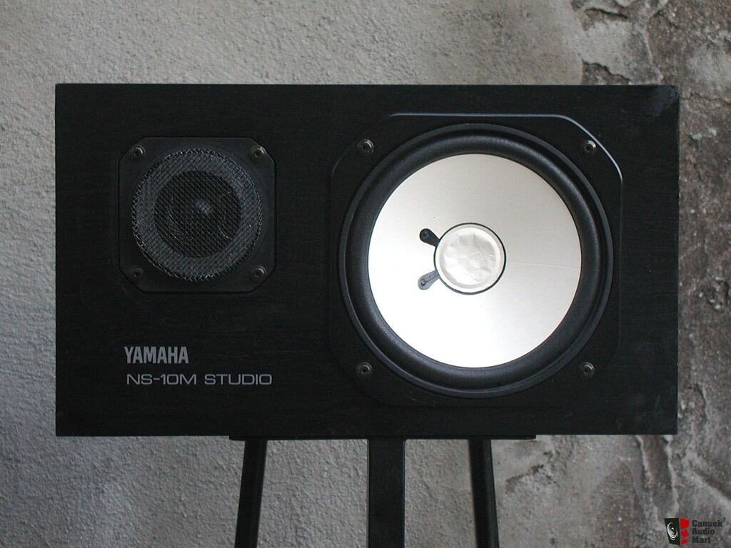 reduced yamaha ns 10m studio monitors photo 174424. Black Bedroom Furniture Sets. Home Design Ideas