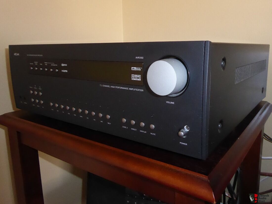 Arcam AVR-350 7.1 Receiver - Mint Condition *REDUCED