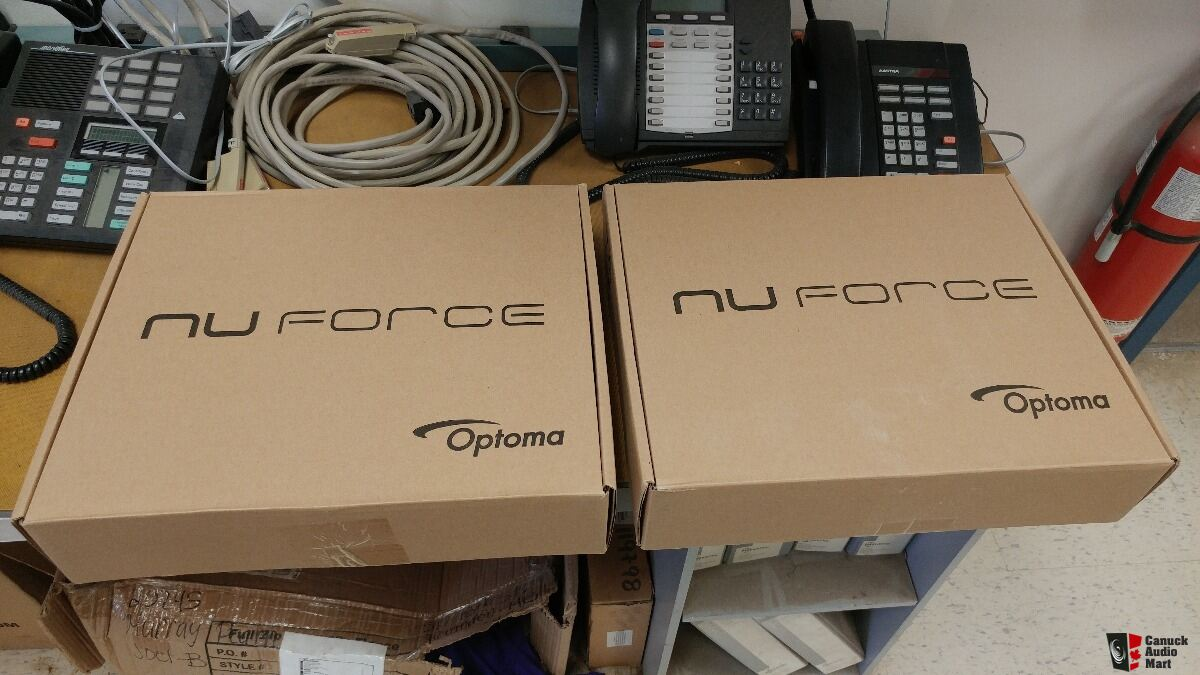 NuForce HA-200 Class A Headphone Amps BNIB