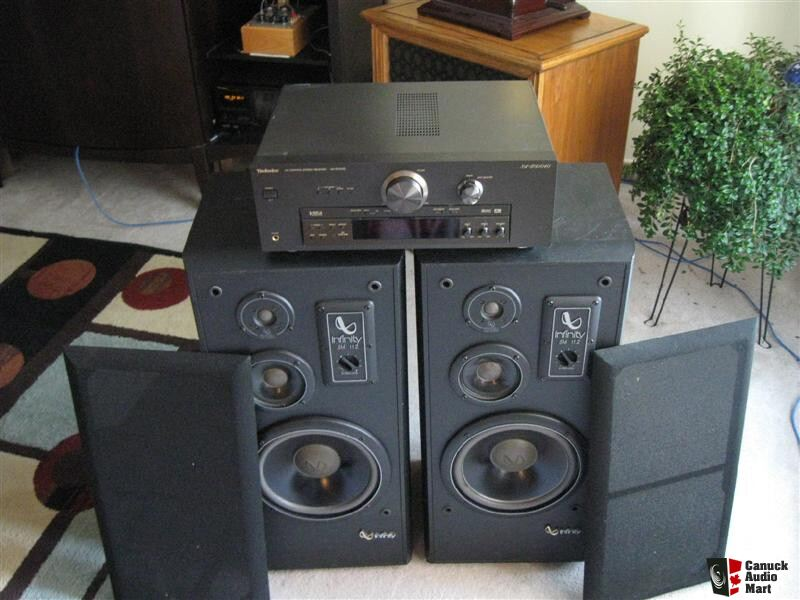 Infinity Sm 112 Speakers Professionaly Refomed With Bonus