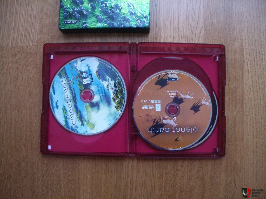 Planet Earth Hd Dvd Box Set Photo 176771 Canuck Audio Mart