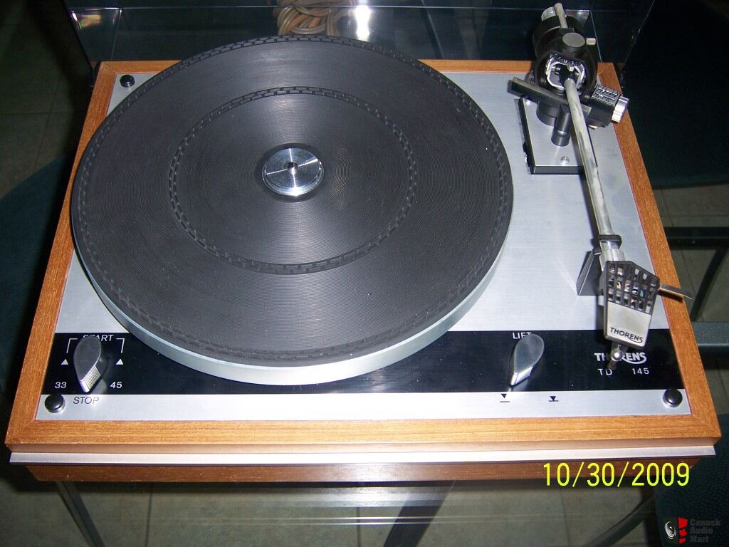 Thorens Td 145 Turntable Free Shipping Photo 177206
